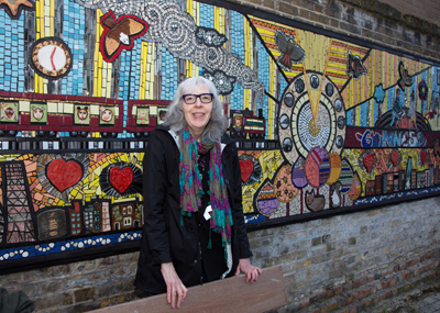 Mural unveiled at Loughborough Park