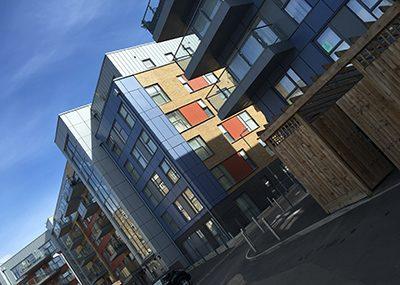 Flats at Loughborough Park, Brixton