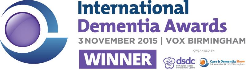 Dementia award logo