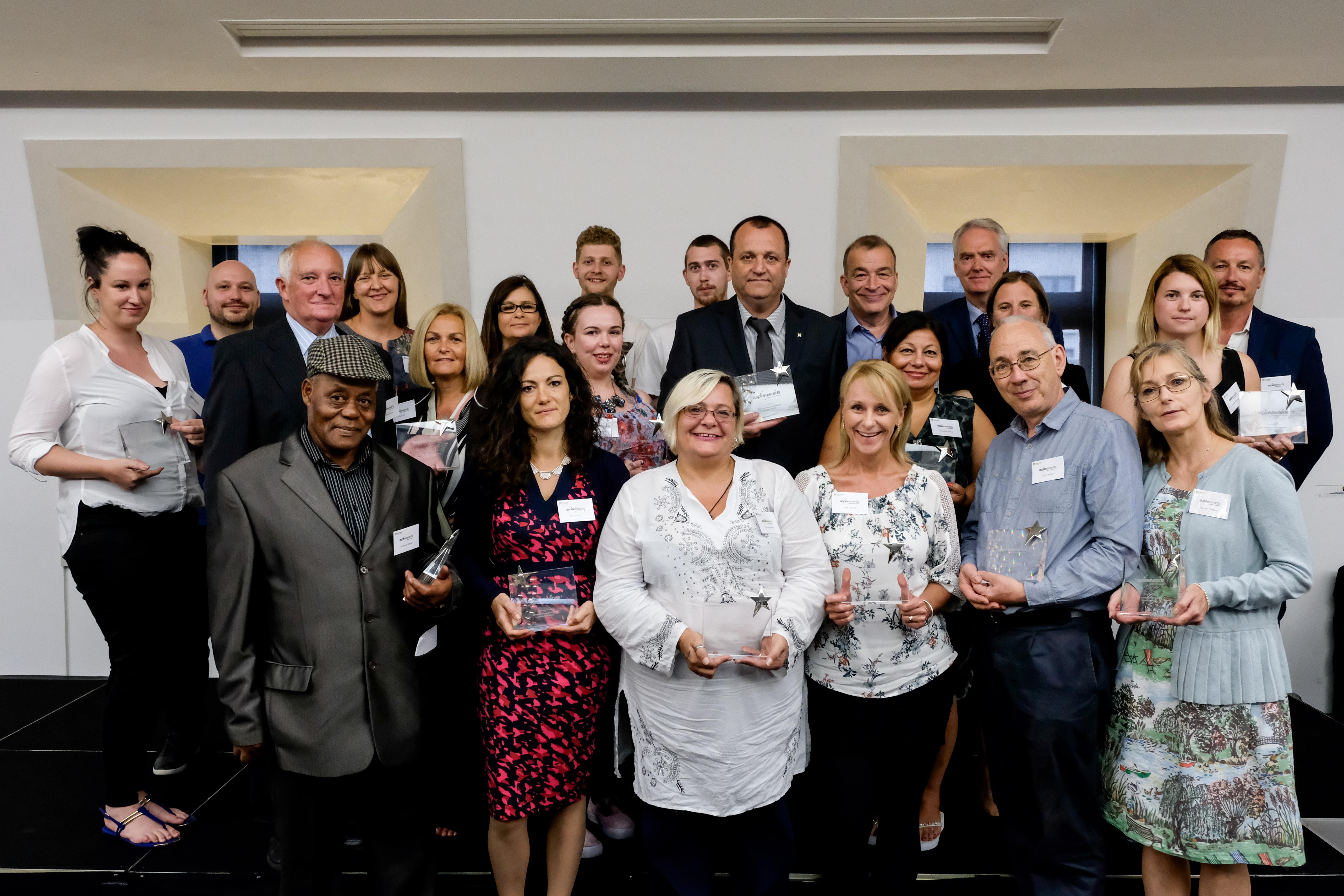 Aspire Award 2017 winners